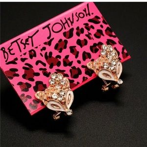 Betsey Johnson Fox Earrings 🌿🆕🌿🆕🌿